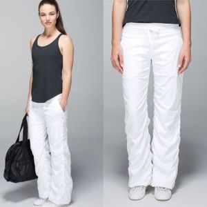 Lululemon Dance Studio Pant II Lined White 4